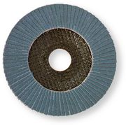 Abrasive mop disc STANDARDline zircon corundum 10° curved glass fiber pad